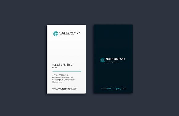Simple Business Card Vol. 01 - Business Cards