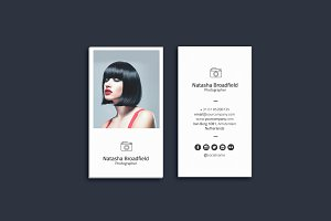 Photographer Business Card Vol. 01