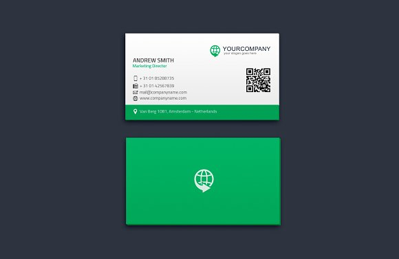 Corporate Business Card Vol. 01 - Business Cards