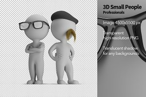 3D Small People - Professionals