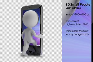 3D Small People - Login to Phone