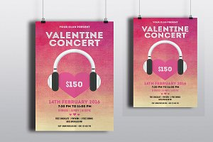 Valentines Day Party Flyer-V188