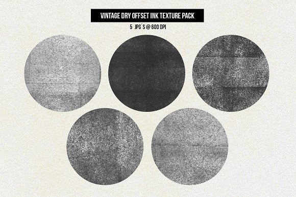 Vintage Offset Printing Effects Kit Actions Creative Market