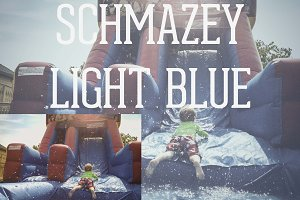 Schmazey Light Blue Photoshop Action
