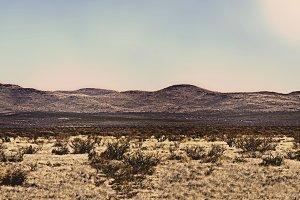 Panoramic Photo of the Marfa Horizon