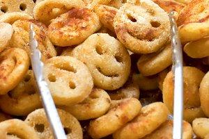 Potato fried smilies