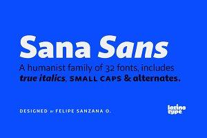 Sana Sans - 30% off