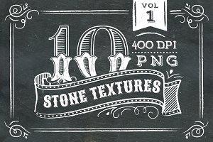 10 Stone Textures - Volume 1