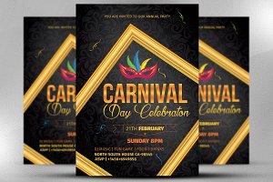 Carnival Celebration Flyer