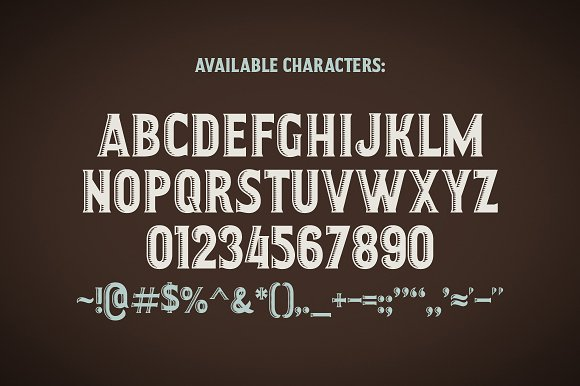 Craft Beer Typeface Display Fonts Creative Market