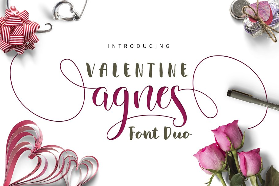 Valentine Agnes FONT DUO