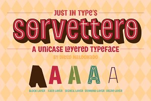 Sorvettero – Desktop + Webfonts