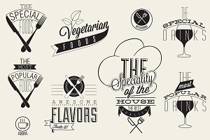 Restaurant menu designs