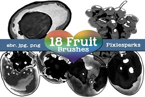 Fruit Brushes - Vol 2