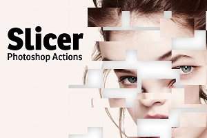 Slicer Photoshop Actions