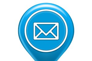 Email Map Location Icon