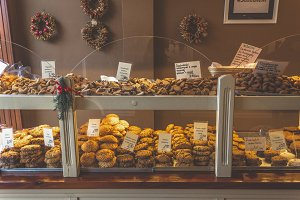 Storefront with cookies