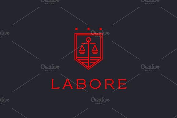 Law firm legal scales premium logo ~ Logo Templates ...