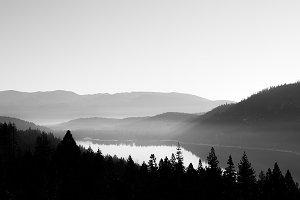 Donner Lake Fog