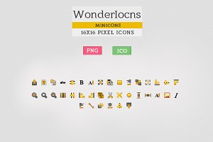 WonderIcons  - User Interface Iocns
