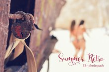 22+ Summer Retro Photo Pack