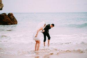 wedding on the seaside