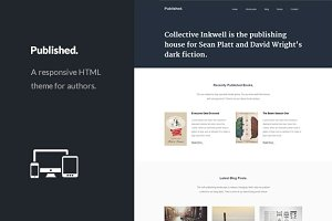Published - Responsive Author Theme