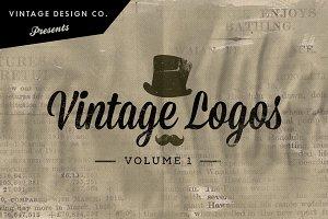 Vintage Logos - Volume 1