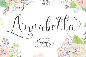 Annabella Calligraphy Script