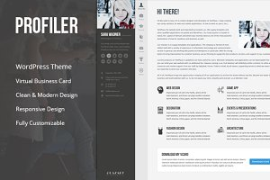 Profiler - Resume WordPress Theme