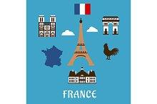 France travel and landmarks