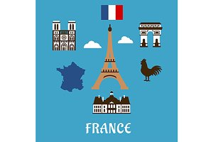 France travel and landmarks