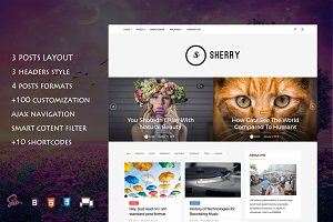 Sherry - Elegant Blog Theme