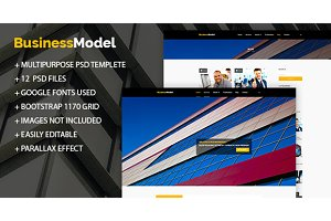 BusinessModel - Business PSD Theme
