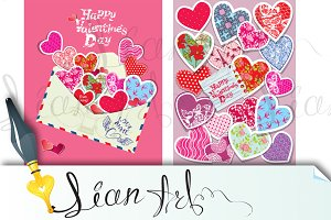 2 Valentines Day cards