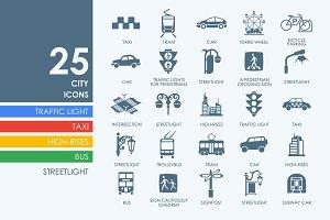 25 City icons