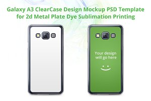 Galaxy A3 ClearCase Mock-up
