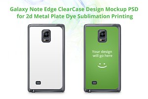 Galaxy Note Edge ClearCase Mock-up