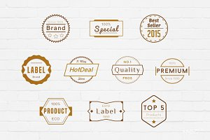 Labels Badges Logos