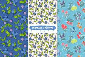Berries patterns