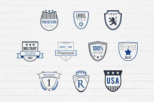 Shields Badges Logos