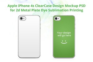 iPhone 4-4s ClearCase Mock-up