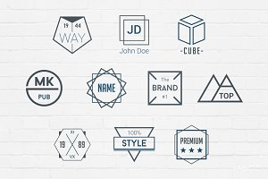 Simple Badges Logos