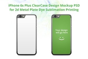 iPhone 6s+ ClearCase Mock-up