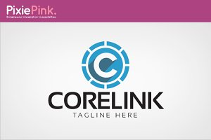 Core Link Logo Template
