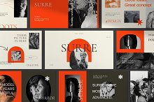 SURRE - Brand Google Slide