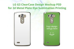 LG G3 ClearCase Mock-up