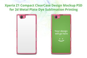 Xperia Z1 Compact ClearCase Mock-up