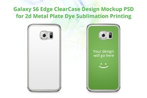 Galaxy S6 Edge ClearCase Mock-up