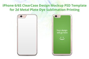 iPhone 6-6s ClearCase Design Mock-up